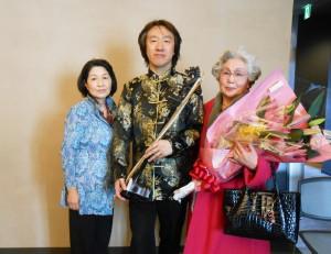 満席「日中友好」二胡とピアノコンサート  北九州芸術劇場