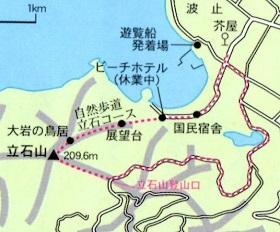 ゆっくり登ろう会 第85回例会 立石山 209m と総会  2014年1月19日(日)