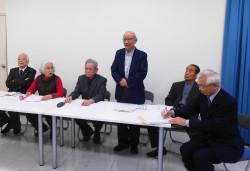 「尖閣問題の話合いによる解決を求める県民へのアピール」