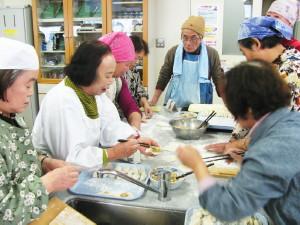「帰国者2世の会」発足  協会福岡県連、支援を力強く約束   水餃子で交流