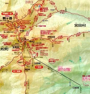 ゆっくり登ろう会  第92回例会 木曽駒ケ岳(2,956m)登山  8月4日(月)~7日(木)