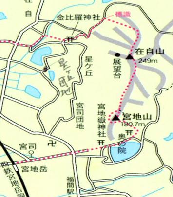 ゆっくり登ろう会 第102回例会 宮地山・在自山 登山 6月6日(土)