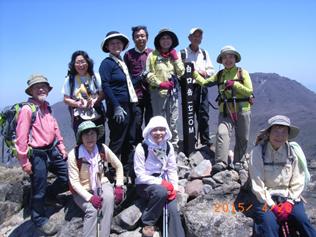 白口岳(くじゅう山)