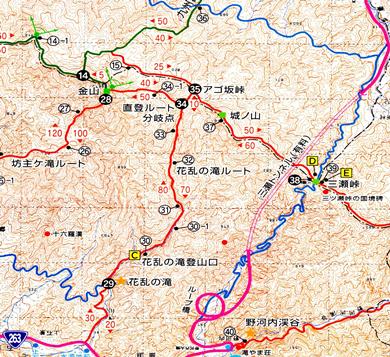 ゆっくり登ろう会 第103回例会 金山 登山 7月26日(日)