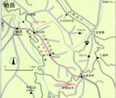 ゆっくり登ろう会 第115回例会 蛤岳(862m)登山  7月24日(日)