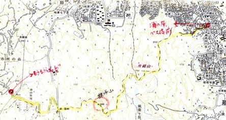 ゆっくり登ろう会   第128回例会 片縄山~糠塚山~もーもーらんど  8月20日(日)